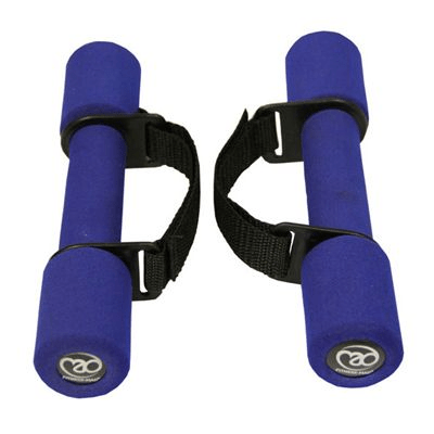 FITNESS-MAD: SOFT GRIP HANTLAR - 1 PAR