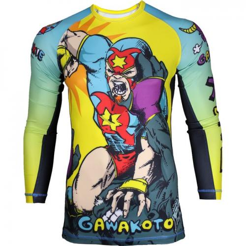 GAWAKOTO: GRAPPLE AND POUND RASHGUARD