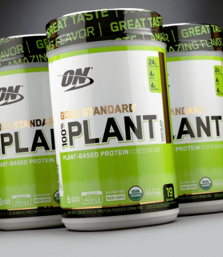 OPTIMUM NUTRITION: GOLD STANDARD 100% PLANT PROTEIN - 684G