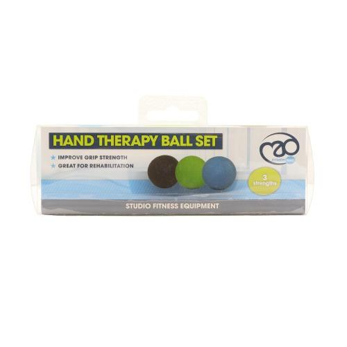 FITNESS-MAD: HAND THERAPY BALL SET (3 bollar)