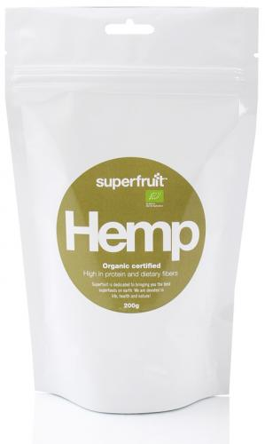 SUPERFRUIT: HAMPAFRÖN  - 200gr