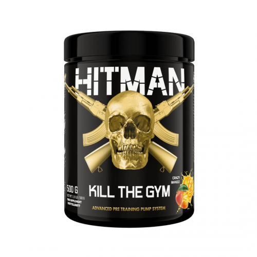 "SWEDISH SUPPLEMENTS: HITMAN ""KILL THE GYM"" - 500gr"
