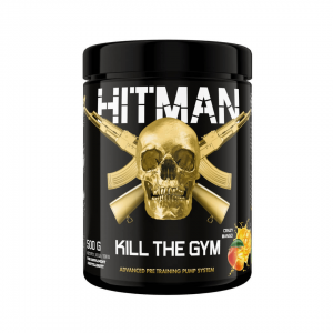 "SWEDISH SUPPLEMENTS: HITMAN ""KILL THE GYM"" - 500gr"