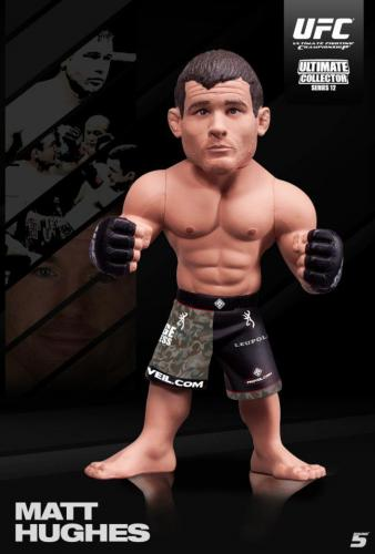 UFC: SERIES 12.5 LIMITED EDITION MATT HUGHES DOCKA