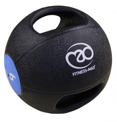 FITNESS-MAD: MEDICINBOLL MED DUBBELGREPP - 6kg