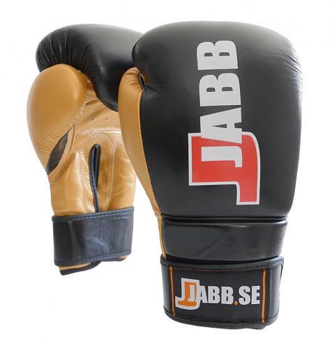 JABB: PROFESSIONAL BOXNINGSHANDSKAR - SVART/GULD