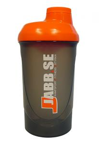 JABB: WAVE SHAKER 600ml - SVART/ORANGE