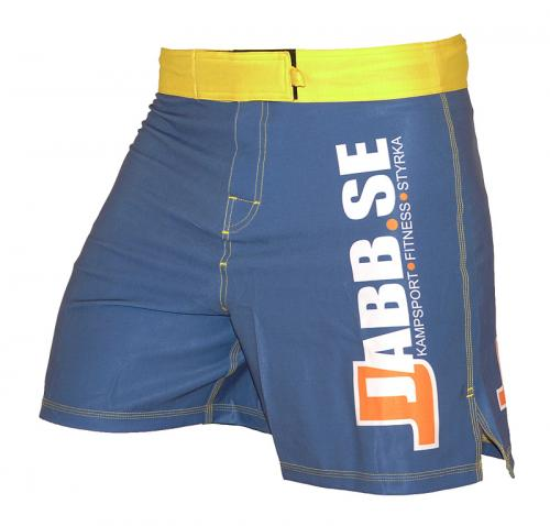 JABB: SHORTCUT MMA SHORTS - BLÅ/GUL