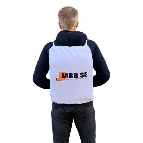 JABB: GYMNASTIKVÄSKA/GI VÄSKA - VIT