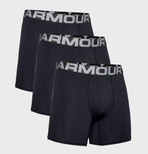UNDER ARMOUR: CHARGED BOXERS - 3-PACK