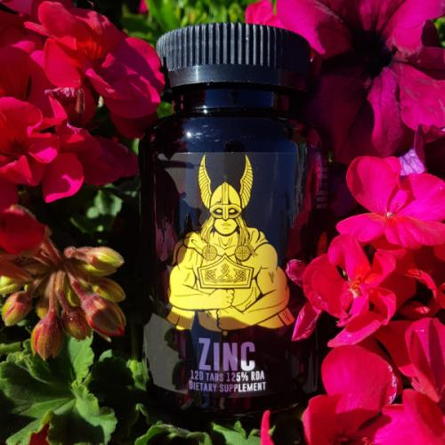 JOTUNHEIM NUTRITION: ZINC OF THE ANCIENTS - 120 tabletter
