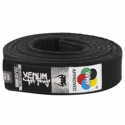 VENUM: KARATE BÄLTE WKF APPROVED - SVART