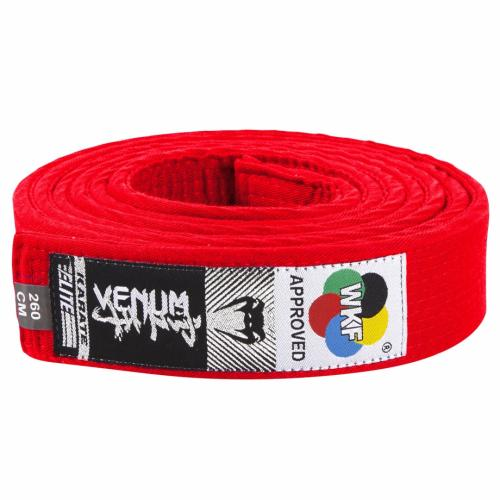 VENUM: KARATE BÄLTE WKF APPROVED - RÖD
