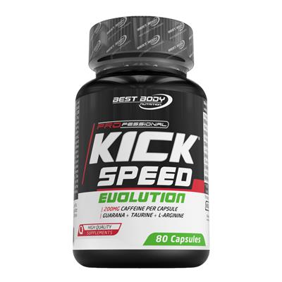 BEST BODY NUTRITION: PROFESSIONAL KICK SPEED EVOLUTION - 80 kapslar