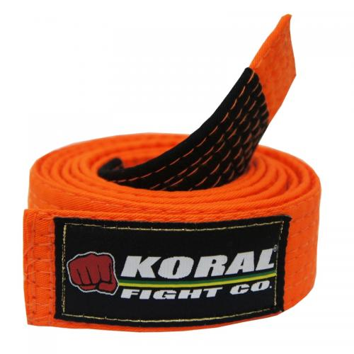 KORAL: KIDS BJJ BÄLTE - ORANGE