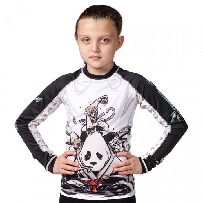 TATAMI: KIDS GENTLE PANDA RASHGUARD