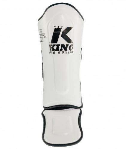 KING PRO BOXING: KIDS BENSKYDD - VIT