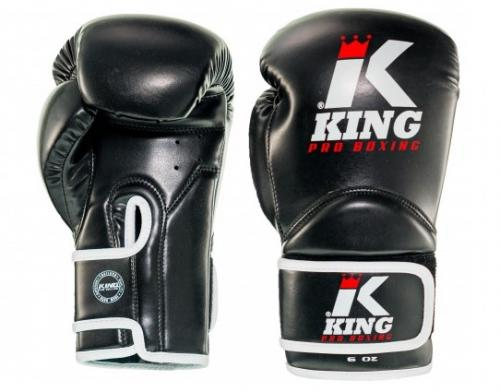 KING PRO BOXING: KIDS BOXNINGSHANDSKAR - SVART