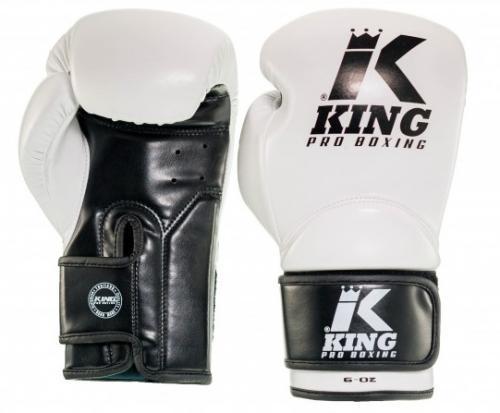 KING PRO BOXING: KIDS BOXNINGSHANDSKAR - VIT
