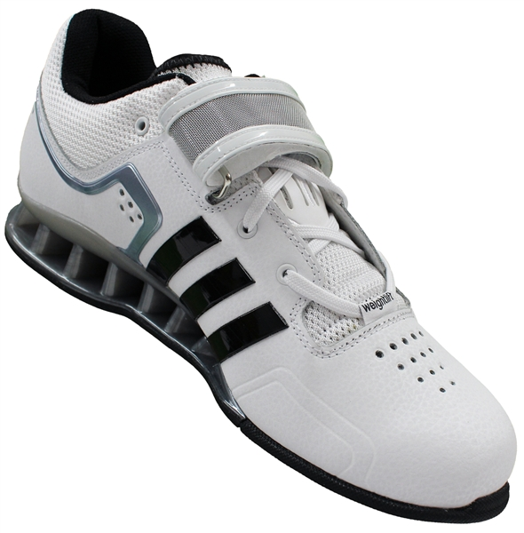 sale retailer 7669b e90b3 adidas adipower white weightlifting skor