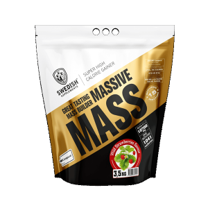 SWEDISH SUPPLEMENTS: MASSIVE MASS 3.5KG SUPER HIGH CALORIE GAINER