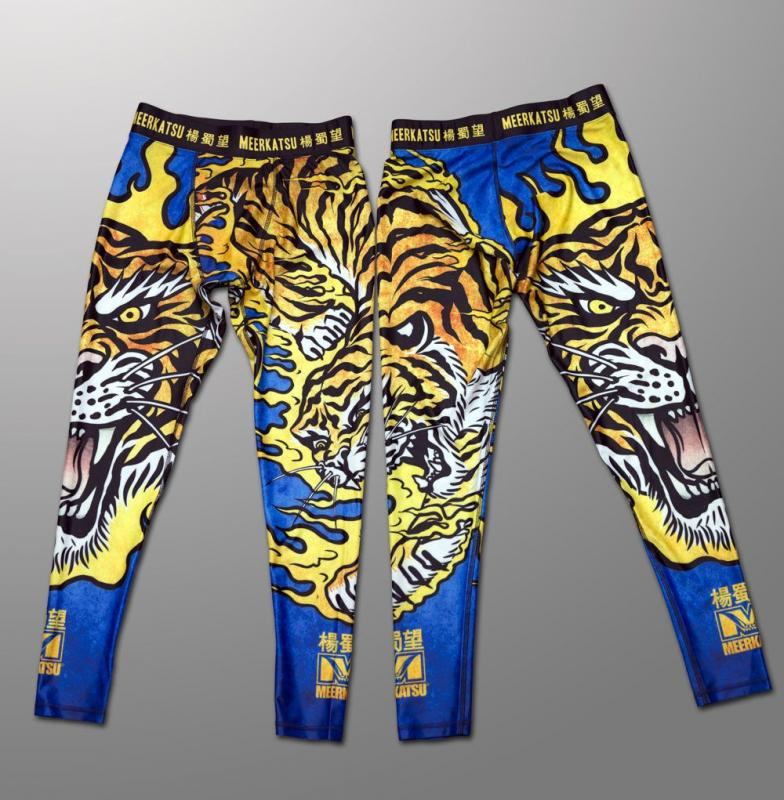 MEERKATSU: FIRE TIGER GRAPPLING TIGHTS