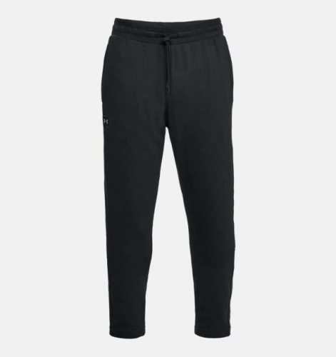 UNDER ARMOUR: RIVAL FLEECE PANTS - SVART