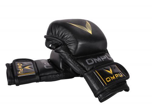 OMPU: TOP SPARRING 2.0 MMA HANDSKAR - SVART/GUL