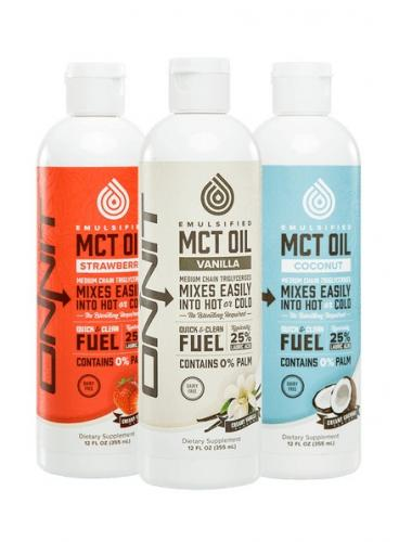 ONNIT: EMULSIFIED MCT OIL - 355ml