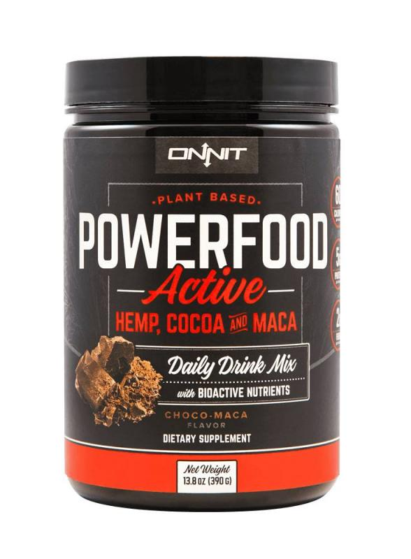 ONNIT: POWERFOOD ACTIVE - CHOCO MACA - 429gr