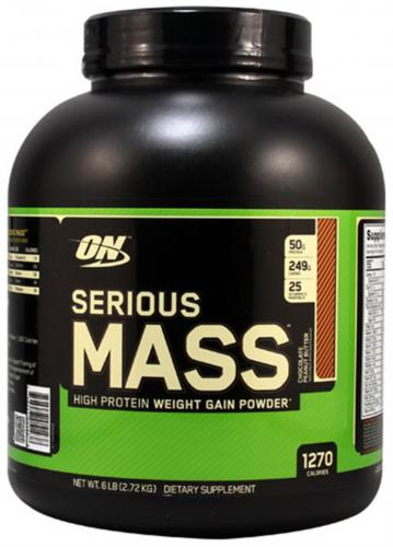 OPTIMUM NUTRITION: SERIOUS MASS - 2,727 kg