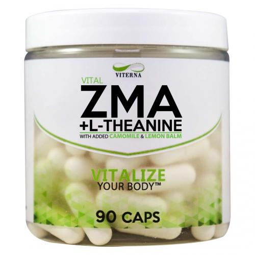 VITERNA: ZMA + L-THEANINE - 90 caps