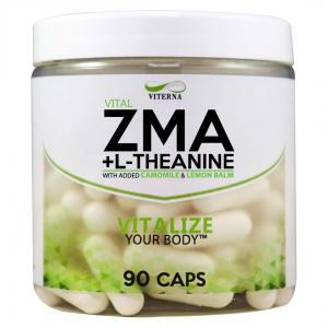 VITERNA: ZMA + L-THEANINE - 90 caps