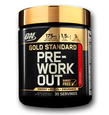 OPTIMUM NUTRITION: GOLD STANDARD PRE-WORKOUT 330G