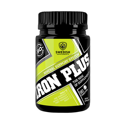 SWEDISH SUPPLEMENTS: IRON PLUS - 60caps