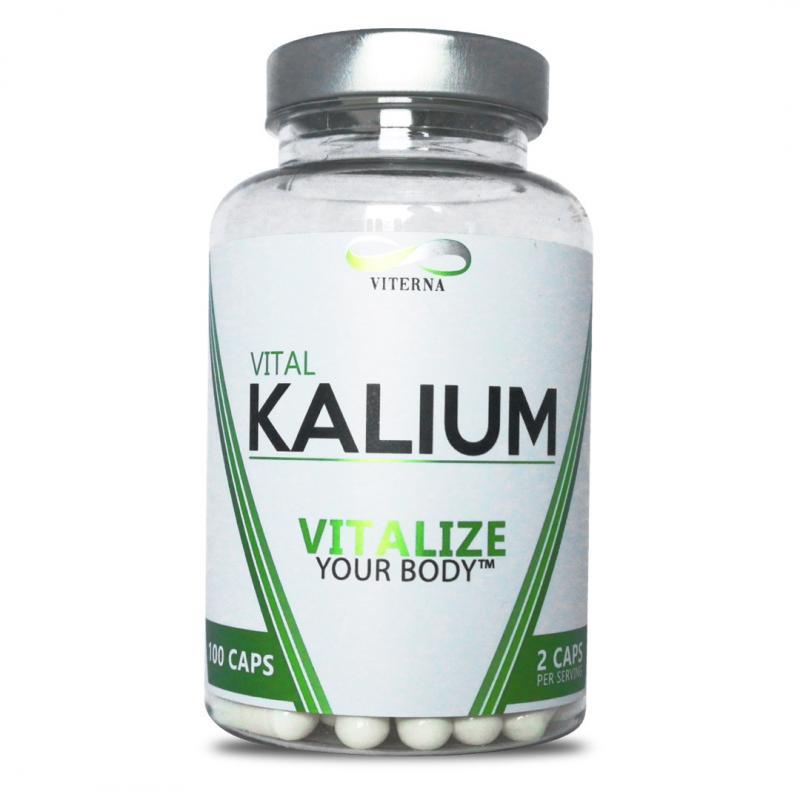 VITERNA: KALIUM - 100 CAPS
