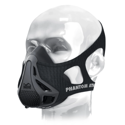 PHANTOM ATHLETICS: TRAINING MASK - SVART