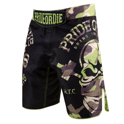 PRIDE OR DIE: FIGHTSHORTS RAW TRAINING CAMP JUNGLE EDITION