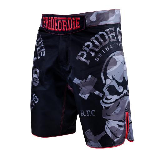 PRIDE OR DIE: FIGHTSHORTS RAW TRAINING CAMP URBAN EDITION