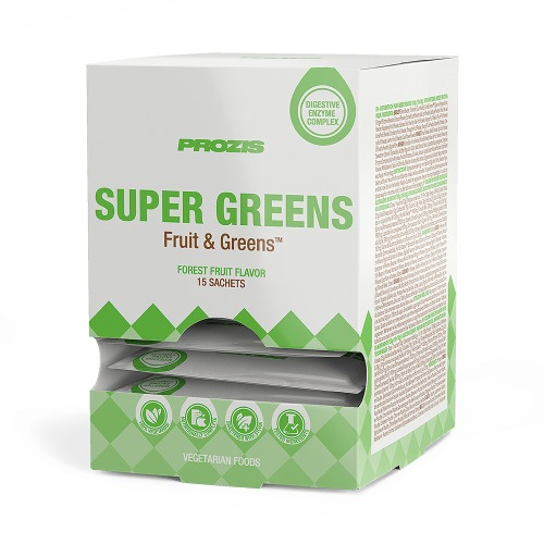 PROZIS: SUPER GREENS 15 x 10 gram