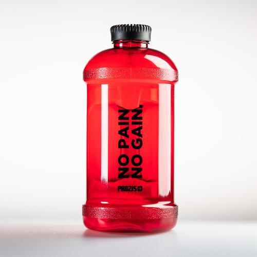 PROZIS: GYM JUG FLASKA RÖD - 2 liter
