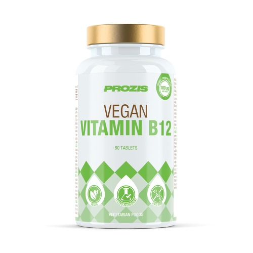 MYVEGIES: VEGETARISK VITAMIN B12 60 TABLETTER