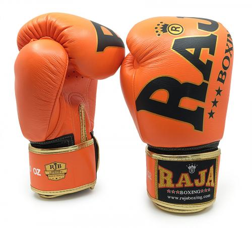 RAJA: SUPREME BOXNINGSHANDSKAR - ORANGE