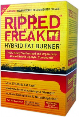 RIPPED FREAK HYBRID FAT BURNER - 60 kapslar