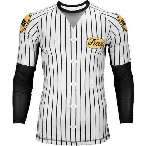 SCRAMBLE: BASEBALL FURIES RASHGUARD