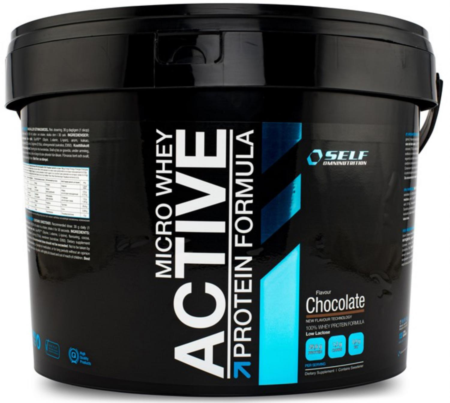 micro whey active protein formula