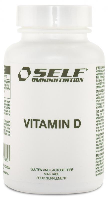 SELF: VITAMIN D - 100 tabletter