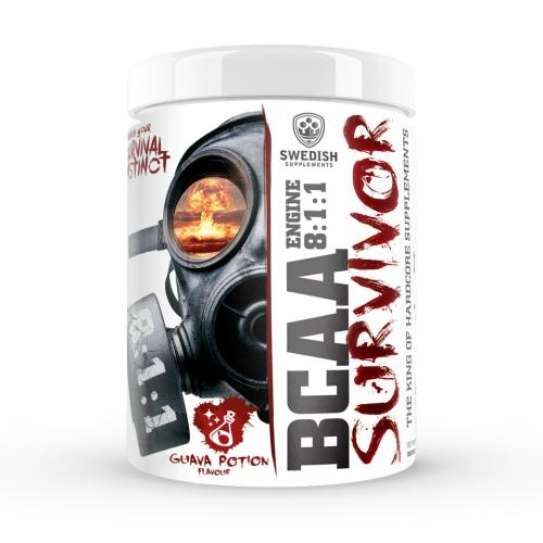 SWEDISH SUPPLEMENTS: BCAA SURVIVOR ENGINE 8.1.1 - 400gr