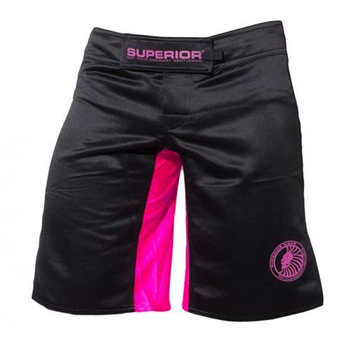 SUPERIOR WEAR: FEMALE ORIGINAL MMA BERMUDAS - SVART