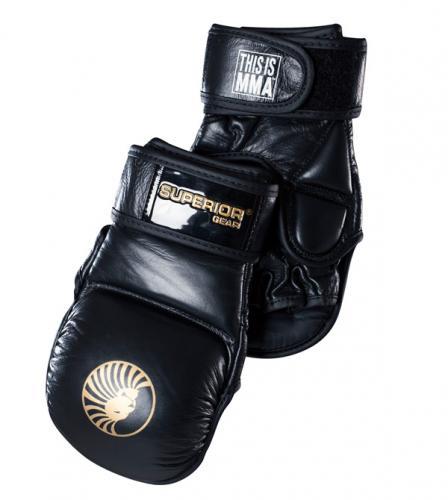 SUPERIOR GEAR: MMA SPARRING HANDSKAR - 1 PAR